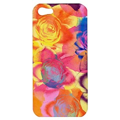 Pop Art Roses Apple Iphone 5 Hardshell Case by DanaeStudio