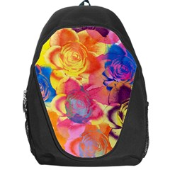 Pop Art Roses Backpack Bag