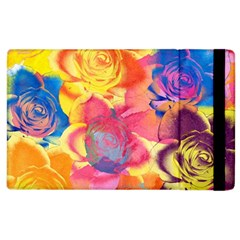 Pop Art Roses Apple iPad 3/4 Flip Case