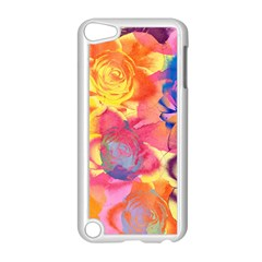 Pop Art Roses Apple iPod Touch 5 Case (White)