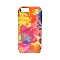 Pop Art Roses Apple iPhone 5 Classic Hardshell Case (PC+Silicone)