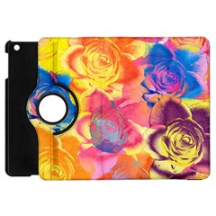 Pop Art Roses Apple iPad Mini Flip 360 Case