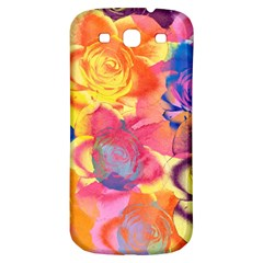 Pop Art Roses Samsung Galaxy S3 S III Classic Hardshell Back Case