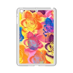 Pop Art Roses iPad Mini 2 Enamel Coated Cases