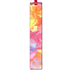 Pop Art Roses Large Book Marks