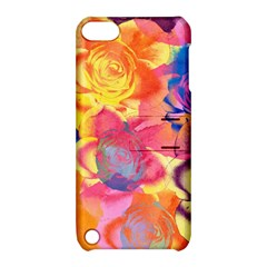Pop Art Roses Apple iPod Touch 5 Hardshell Case with Stand