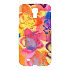 Pop Art Roses Samsung Galaxy S4 I9500/I9505 Hardshell Case
