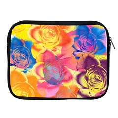 Pop Art Roses Apple iPad 2/3/4 Zipper Cases