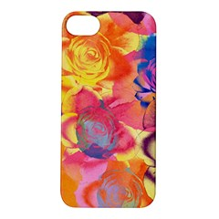 Pop Art Roses Apple iPhone 5S/ SE Hardshell Case