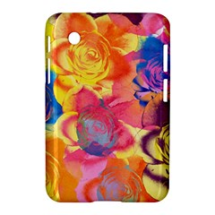 Pop Art Roses Samsung Galaxy Tab 2 (7 ) P3100 Hardshell Case