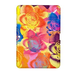 Pop Art Roses Samsung Galaxy Tab 2 (10.1 ) P5100 Hardshell Case