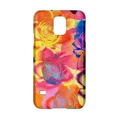 Pop Art Roses Samsung Galaxy S5 Hardshell Case