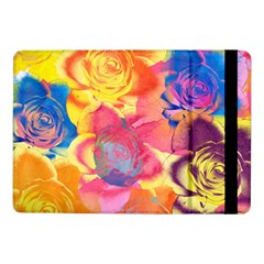 Pop Art Roses Samsung Galaxy Tab Pro 10 1  Flip Case by DanaeStudio