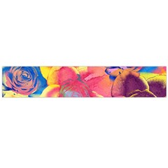 Pop Art Roses Flano Scarf (Large)