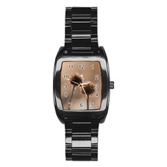 2  Verwelkte Kugeldistel Stainless Steel Barrel Watch by wsfcow