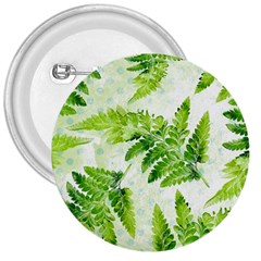 Fern Leaves 3  Buttons by DanaeStudio