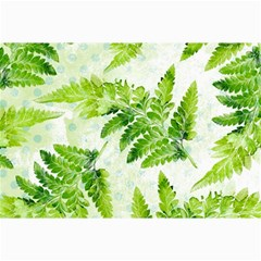 Fern Leaves Collage Prints by DanaeStudio