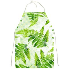 Fern Leaves Full Print Aprons by DanaeStudio