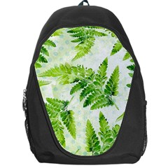 Fern Leaves Backpack Bag