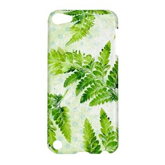 Fern Leaves Apple Ipod Touch 5 Hardshell Case by DanaeStudio