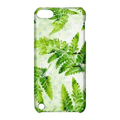 Fern Leaves Apple Ipod Touch 5 Hardshell Case With Stand by DanaeStudio