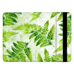 Fern Leaves Samsung Galaxy Tab Pro 12 2  Flip Case by DanaeStudio