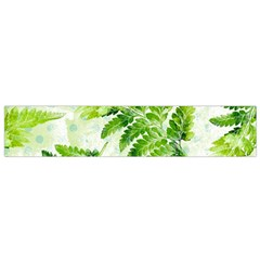 Fern Leaves Flano Scarf (small)