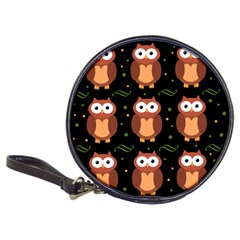 Halloween brown owls  Classic 20-CD Wallets