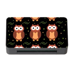 Halloween brown owls  Memory Card Reader with CF
