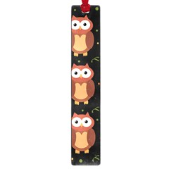 Halloween brown owls  Large Book Marks