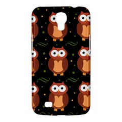 Halloween Brown Owls  Samsung Galaxy Mega 6 3  I9200 Hardshell Case