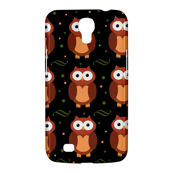 Halloween brown owls  Samsung Galaxy Mega 6.3  I9200 Hardshell Case