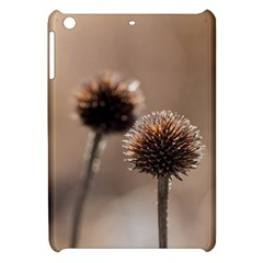 Withered Globe Thistle In Autumn Macro Apple Ipad Mini Hardshell Case by wsfcow