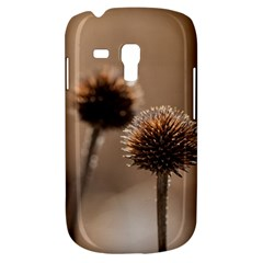 Withered Globe Thistle In Autumn Macro Samsung Galaxy S3 Mini I8190 Hardshell Case by wsfcow
