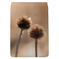Withered Globe Thistle In Autumn Macro Flap Covers (l)  by wsfcow