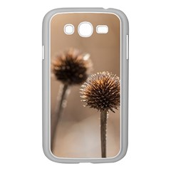 Withered Globe Thistle In Autumn Macro Samsung Galaxy Grand Duos I9082 Case (white) by wsfcow