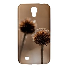 Withered Globe Thistle In Autumn Macro Samsung Galaxy Mega 6 3  I9200 Hardshell Case by wsfcow