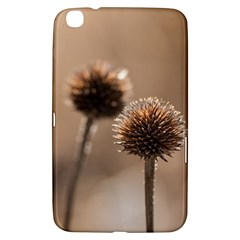 Withered Globe Thistle In Autumn Macro Samsung Galaxy Tab 3 (8 ) T3100 Hardshell Case  by wsfcow