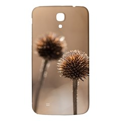 Withered Globe Thistle In Autumn Macro Samsung Galaxy Mega I9200 Hardshell Back Case by wsfcow