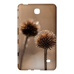 Withered Globe Thistle In Autumn Macro Samsung Galaxy Tab 4 (7 ) Hardshell Case  by wsfcow