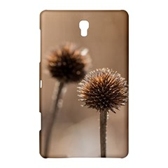 Withered Globe Thistle In Autumn Macro Samsung Galaxy Tab S (8 4 ) Hardshell Case  by wsfcow