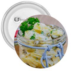 Potato Salad In A Jar On Wooden 3  Buttons by wsfcow