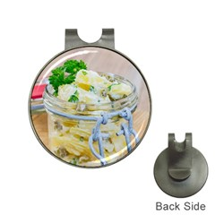 Potato Salad In A Jar On Wooden Hat Clips With Golf Markers by wsfcow