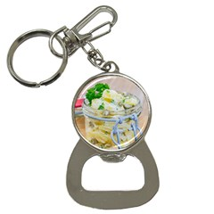 Potato Salad In A Jar On Wooden Bottle Opener Key Chains by wsfcow