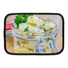 Potato Salad In A Jar On Wooden Netbook Case (medium)  by wsfcow