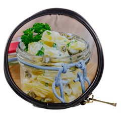 Potato Salad In A Jar On Wooden Mini Makeup Bags by wsfcow