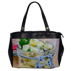 Potato Salad In A Jar On Wooden Office Handbags by wsfcow