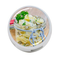 Potato Salad In A Jar On Wooden 4 Port Usb Hub (two Sides)  by wsfcow