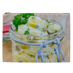 Potato Salad In A Jar On Wooden Cosmetic Bag (xxl)  by wsfcow