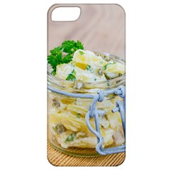 Potato Salad In A Jar On Wooden Apple Iphone 5 Classic Hardshell Case by wsfcow
